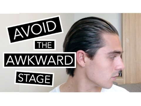 How To Style Your Hair During The AWKWARD STAGE | Growing Long Hair