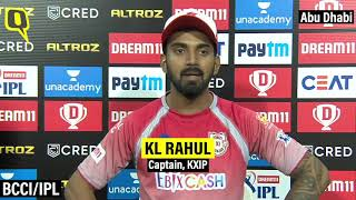 'It Does Hurt,' Says KXIP Captain KL Rahul After Team Knocked Out of IPL 2020 | The Quint