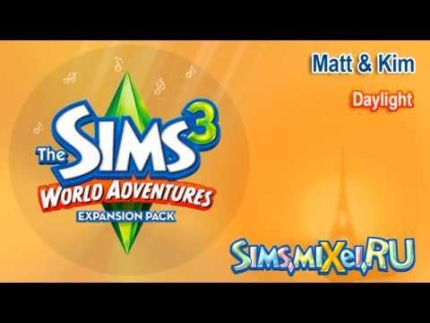 Matt & Kim - Daylight - Soundtrack The Sims 3 World Adventures