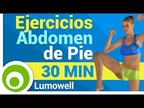 Ejercicios para Abdomen de Pie - 30 Minutos