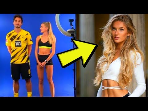 Alica Schmidt Borussia Dortmund S New Fitness Coach The World Is Talking About Youtube