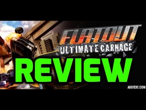 Flatout Ultimate Carnage Review (Xbox 360)