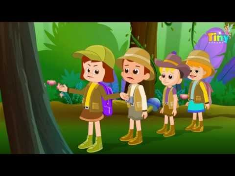 Walking Through The Jungle | Nursery Rhymes and Songs For Children | Rhymes for Kids