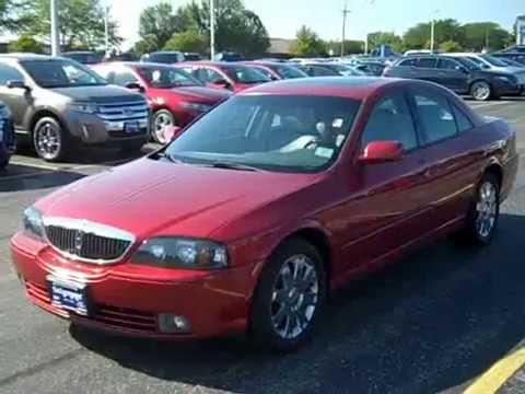 2005 Lincoln Ls V8 >> 2005 Lincoln Ls Sport Review Stock 836101 Schimmer Ford Lincoln Hyundai