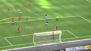Charlie Adam's first penalty v Malaysia