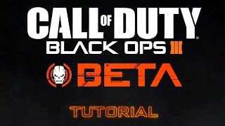 Call of Duty Black Ops 3 BETA - Multiplayer Gameplay Tutorial (2015) | Official Ego-Shooter Game HD