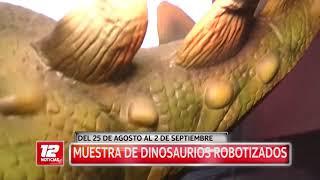 Expo dinosaurios en Trelew.