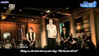 [Vietsub] [SuJu team @ 360kpop]  100911 The Muzit KyuHyun 7 Years Of Love