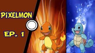 Minecraft Pixelmon - Pokémon, o início! - Ep. 1