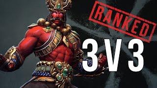 Smite 3v3 Ranked: Ravana Gameplay