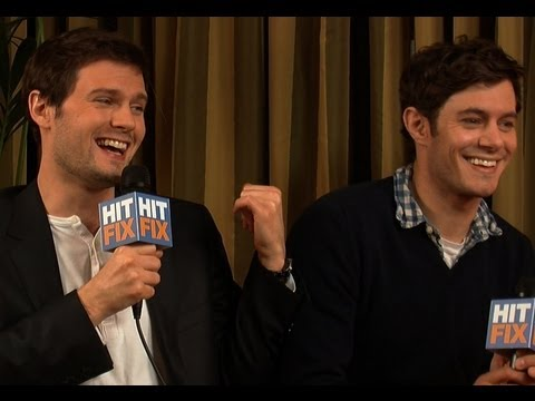 Adam Brody and Hugo Becker talk 'Damsels in Distress'