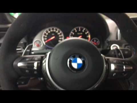 BMWCoding-BG F13 M6 retrofit of brand new alcantara M Performance II steering wheel