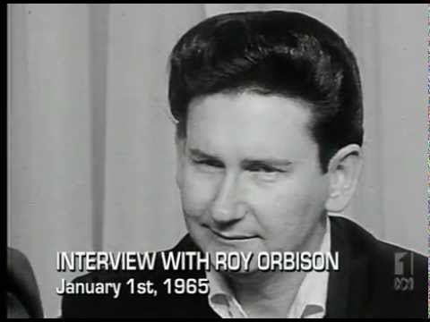 Roy Orbison rare Australian interview January 1965