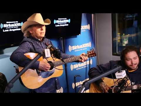 Dwight Yoakam x Post Malone - The Bottle Let Me Down at Sirius XM Radio