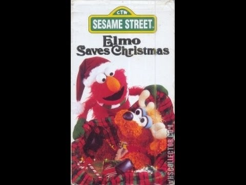 opening to elmo saves christmas 1996 vhs youtube - Sesame Street Elmo Saves Christmas