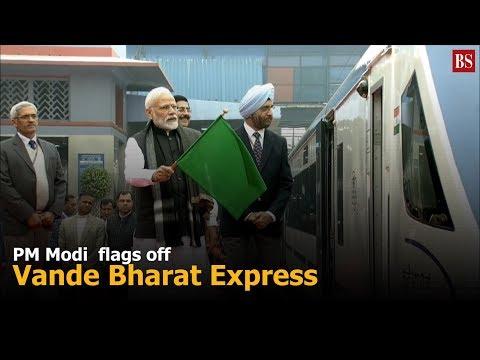 PM Modi flags off Vande Bharat Express Mp3