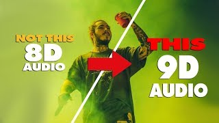 Post Malone - Goodbyes Ft. Young Thug { 9D AUDIO | NOT 8D AUDIO }