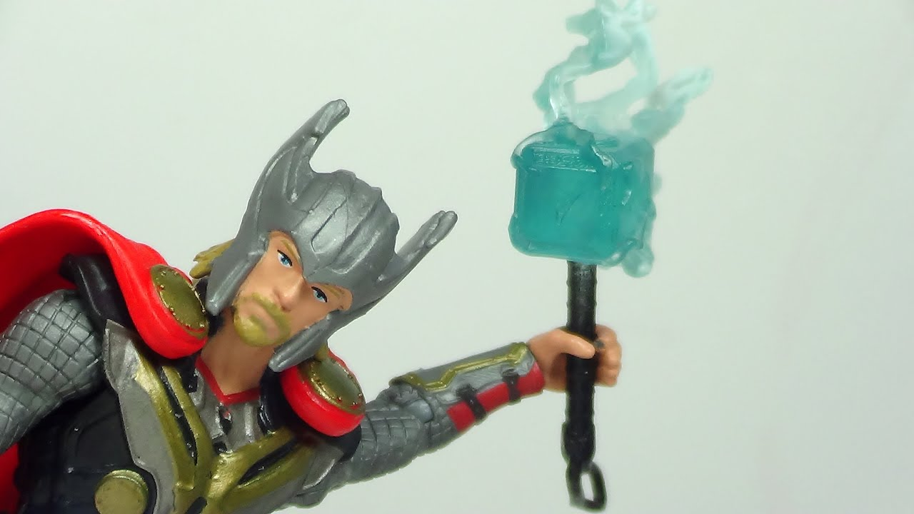 thor the dark world lightening bolt hammer 3 3 4 inch figure review