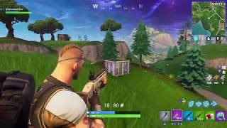 Fortnite Battle Royale (SOLO) What is this aim!?