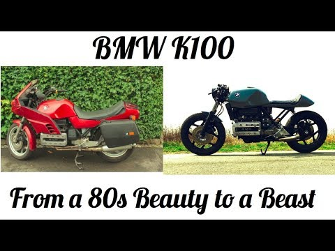 BMW K100 - From a 80s Beauty to a Beast