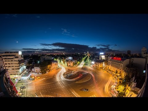 Bucharest - The City Rush (timelapse by Eduard Gutescu)