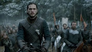 Game Of Thrones The Battle Between Jon snow & Ramsey's Force Begins| Game  of Thrones S06 EP09