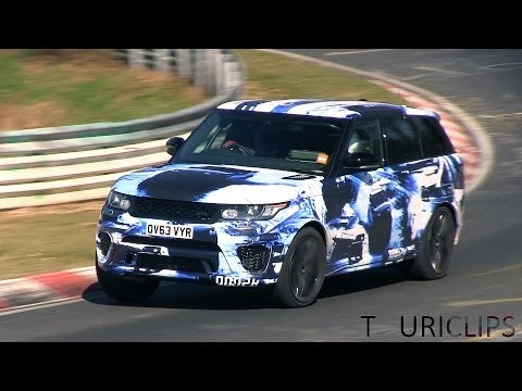 2015 Range Rover Sport R-S spied testing on the Nürburgring!