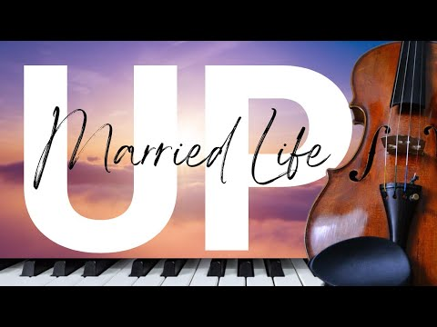 "Theme from ""UP"" -  &39;Married Life&39; Wedding  feat &39;Ave Maria&39;  VIOLIN & PIANO"