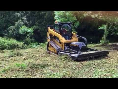 CAT 259D Highflow with Brushcutter - SR Hird Plant Ltd