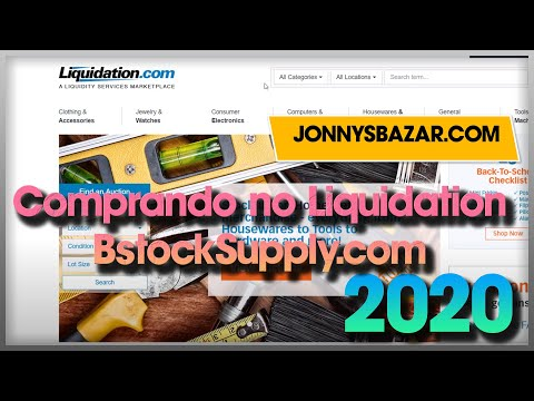 Comprando no liquidation.com Passo a passo compre pague ai no brasil e redirecione com jonnysbazar