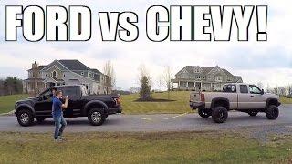 BRAND NEW RAPTOR vs DURAMAX...