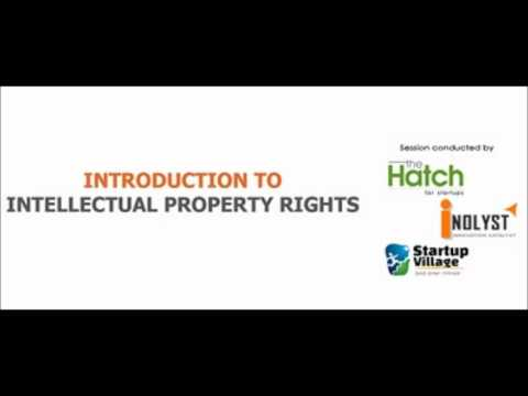 Basics of IPR and How to create an IP strategy for startups (Audio)