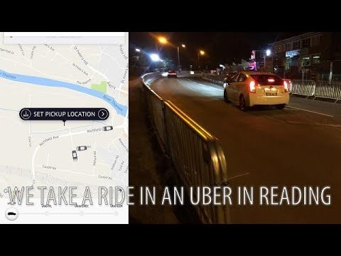 One month Uber review in Reading UK