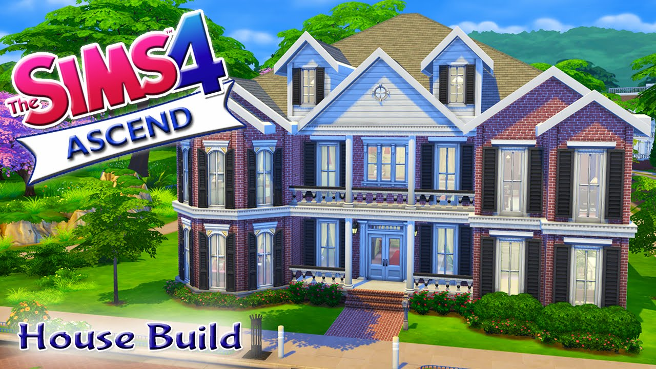 The Sims 4 House Build Ascend Traditional Family Home YouTube