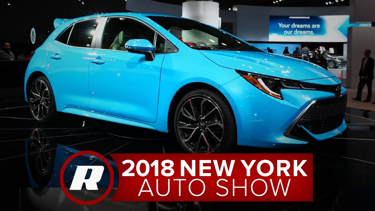 Goodbye Im Hello 2019 Toyota Corolla Hatchback New York Auto Show