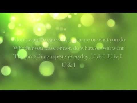 Ailee U & I English Lyrics