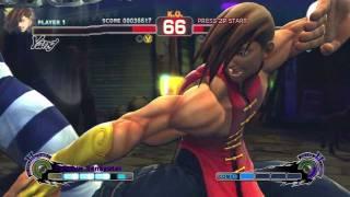 Super Street Fighter IV AE - Yang Arcade