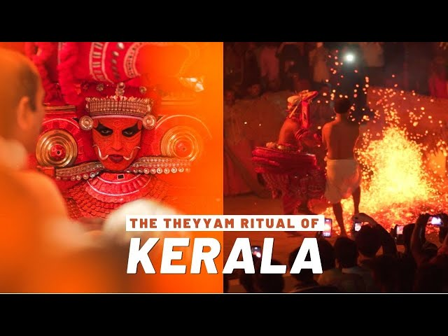 The Human Who Turns Into God! - The Theyyam of Kerala