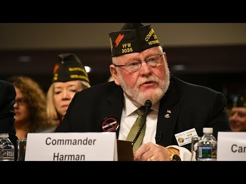 VFW National Commander Keith Harman's Complete Testimony and Q & A