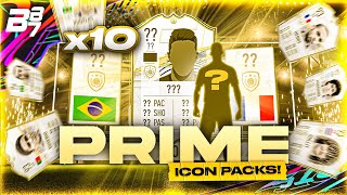 10 X PRIME ICON UPGRADE PACKS! | FIFA 21 ULTIMATE TEAM