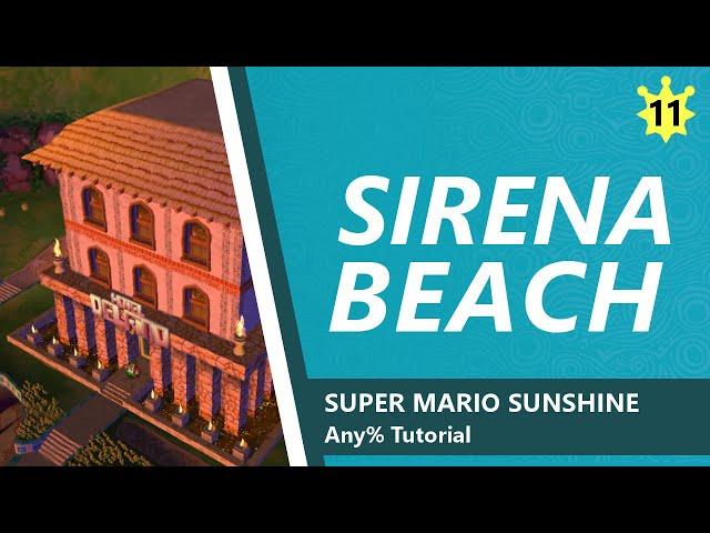 Sirena Beach - SMS Any% Tutorial 11