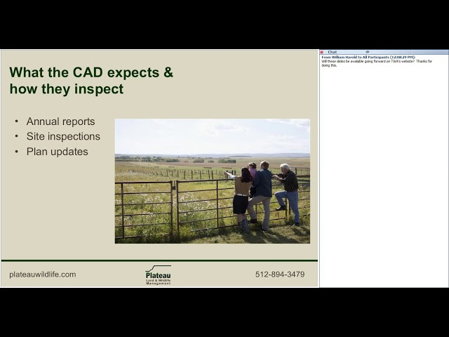Record Keeping in Wildlife Management - Wildlife for Lunch Webinar - August 2017