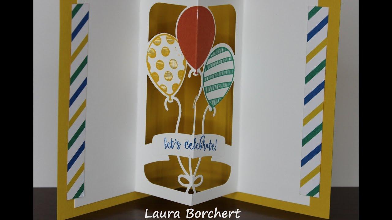 Stampin Up Balloon Adventures Stamp Set Amp Balloon Pop Up