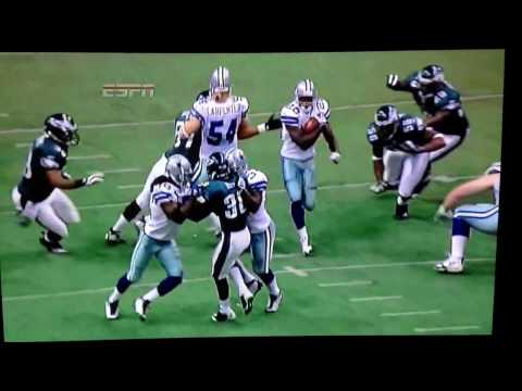 2008 Philadelphia@Dallas Felix Jones 98yd KO Return for TD