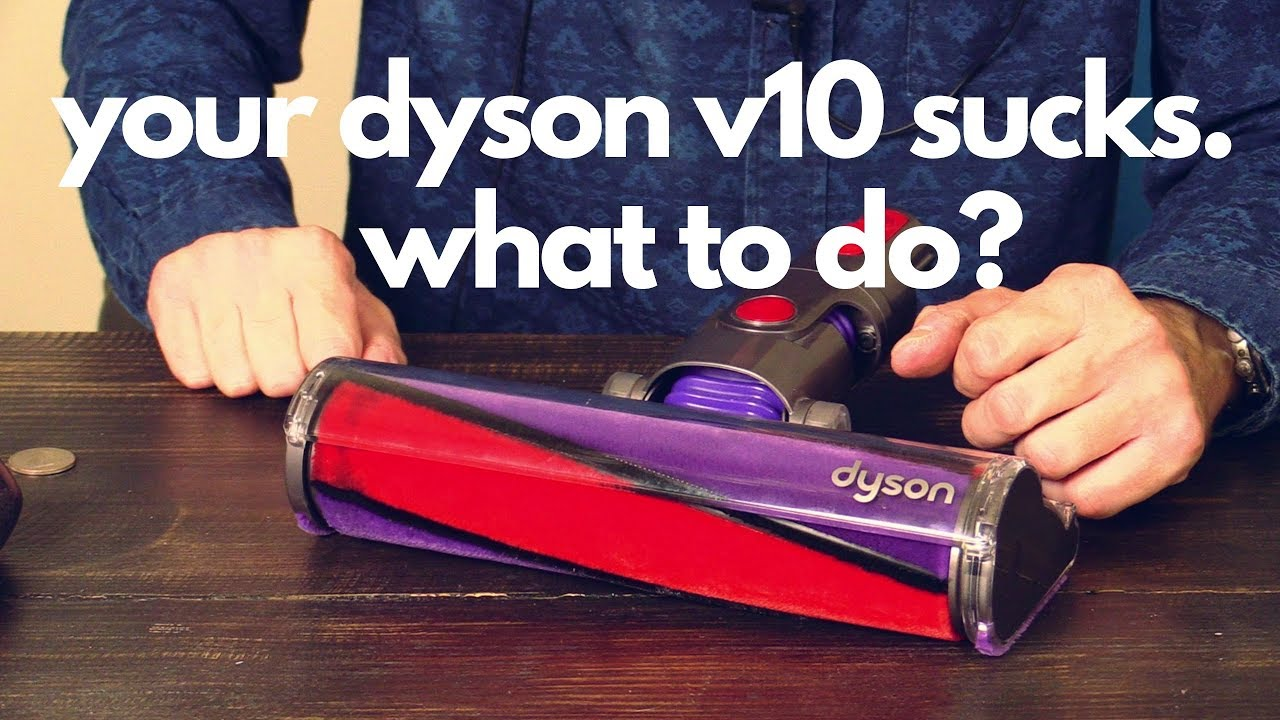 Dyson V10 Cleaning The Hard Floor