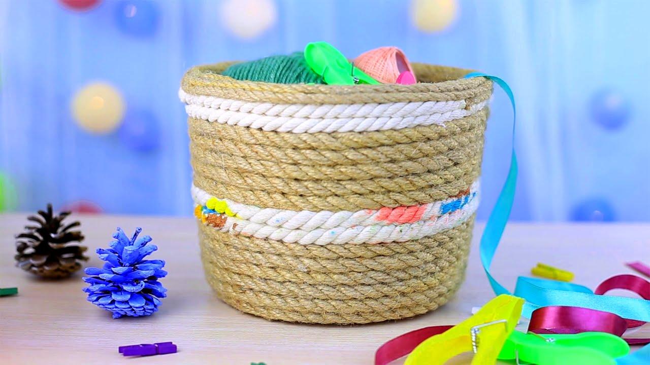 Изделия из верёвок своими руками фото 590