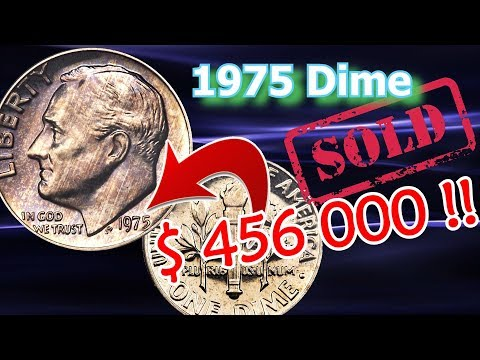 1975 No S Dime Sells For Almost A Half Million Dollars