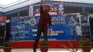 Gurkirpal Surapuri Live Continental Group Of Collge ( Jalverha - F.G.S ) 8-3-2013 (P1)