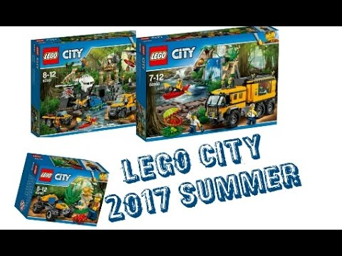 LEGO News: LEGO CITY JUNGLE 2017 SUMMER SETS Official ...