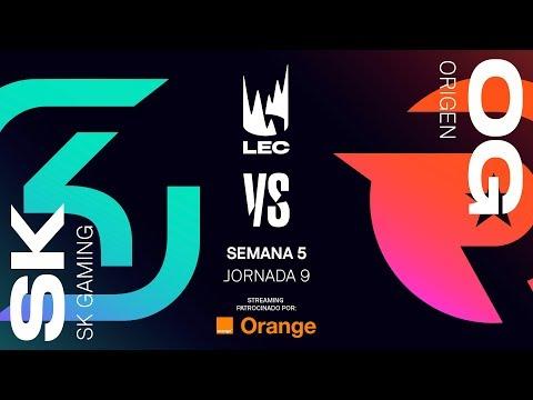 SK GAMING vs ORIGEN | LEC | Summer Split [2019] League of Legends